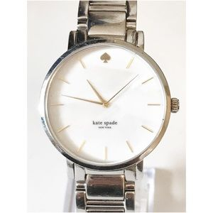 kate spade Accessories - Kate Spade mother of pearl gramercy silver watch